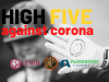 Coronavirus: High Five against Corona